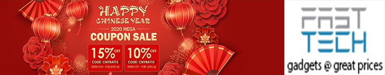 FastTech - Happy CNY! 2020 Mega Sitewide Coupon Sale!