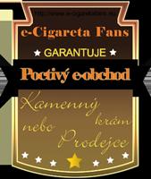 e-cigaretafans - certifikát kvality